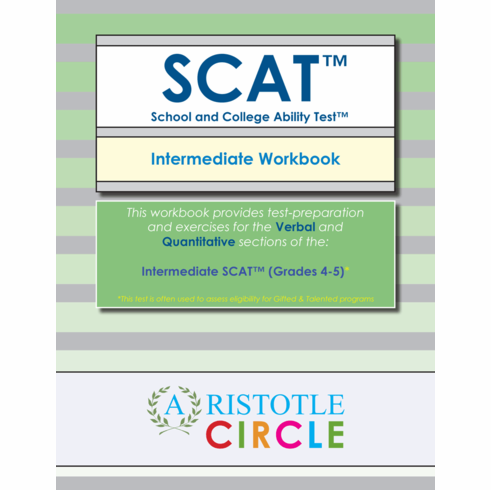 "Intermediate SCAT™ <br>Workbook (Grades 4-5) <span style=""color: red"">OUT OF STOCK</span>"