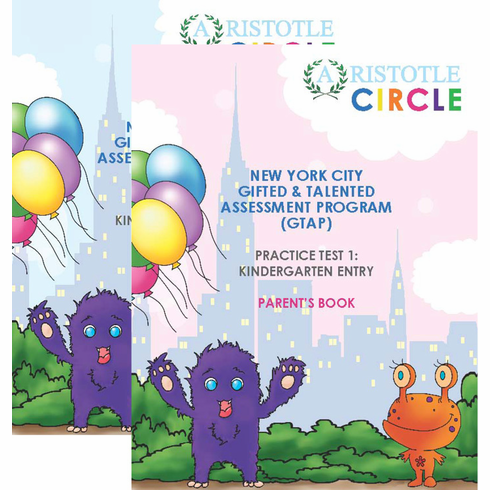 New York City<br>Gifted & Talented<br>Practice Test 1<br>Kindergarten Entry<br>