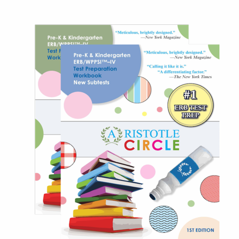 PreK & Kindergarten ERB/WPPSI™-IV Test Preparation Complete Set <br> Includes New Subtests Workbook!