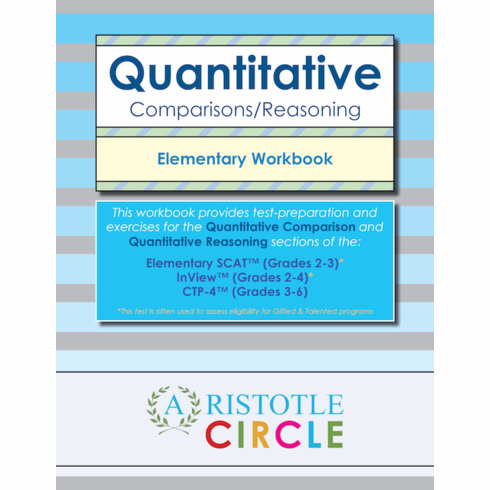 Quantitative Comparisons/Reasoning Elementary Workbook