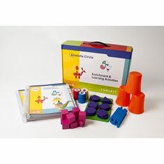 "Stanford-Binet/Hunter Test Preparation and Enrichment Kit<br>Ages 4-10<br><span style=""color: red"">Featured in <em>The New York Times</em>"