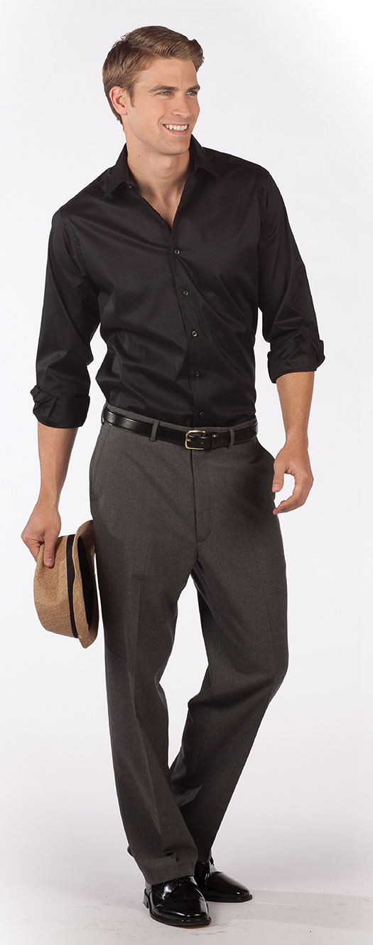stretch dress shirt