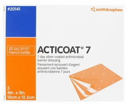 """Acticoat 7 Day Antimicrobial Wound Dressing (6""""x6"""") (Box of 5)"""
