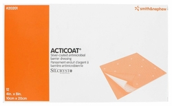 """Acticoat Burn Dressing (4""""x4"""") (by the Each)"""