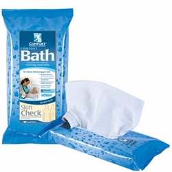 Comfort Bath Essentials Cleansing Washcloths (Pack of 8)