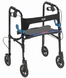 Drive Clever Lite Rollator Walker with Seat and Loop Locks