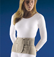 """FLA 11"""" Soft Form Lumbar Sacral Support with Flexible Stays"""