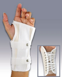 FLA Canvas Cock-Up Wrist Splint