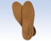 FLA Soft Point Leather Orthotic Insoles (1 Pair)