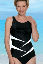 Jodee Fun In The Sun One-Piece Soft Cup Pocketed Swimsuit, (Style 1469)