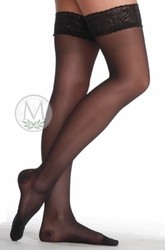 Juzo Attractive OTC 5140 AG Thigh-High Support Hose with Lace Silicone Border (15-20 mmHg)
