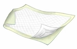 """Kendall Yellow Bed Pads (23""""x36"""") (Pack of 24)"""