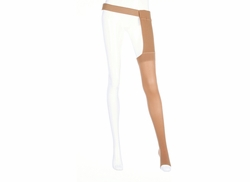 Mediven Plus Thigh High Petite with Waist Attachment for the Right Leg (40-50 mmHg)