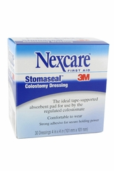 "Nexcare Stomaseal Colostomy Dressing (4""x4"") (by the Case)"