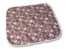 """Salk CareFor Deluxe Floral Underpad (23""""x36"""")"""