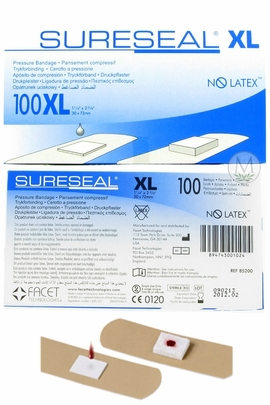 Sureseal Pressure Bandages (Size XL) (Box of 100)