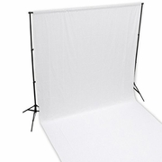 10 x 10 ft White Muslin Backdrop Background