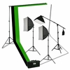 10 x 10 3 Backdrop Softbox Continuous Photo Video Lighting Kit