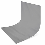 10 x 10 ft Solid Grey Muslin Backdrop Studio Background 1010GREY