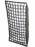 """24 x 48"""" Honeycomb Grid Strip Softbox for Alien Bees Strobe Flashes"""