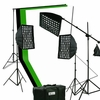 2400 Watt Digital Video Continuous Softbox Boom Hair Lighting Kit