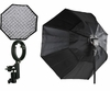 "37"" Octagon Honeycomb Grid Softbox with Flash Mounting for Nikon Canon"