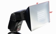 "4.5"" x 8"" Universal Soft Box Flash Diffuser for Most Camera Flash"