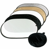 60CM x 90CM 5 in 1 Collapsible Reflector Oval Disk REF2436