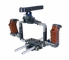 BMCC Cage for Blackmagic Cinema Camera Shoulder Rig 15MM Baseplate