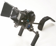 DSLR Camera Shoulder Rig Movie Kit with Follow Focus and Matte Box