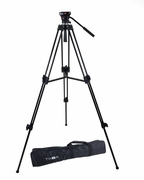 Thor DVK-2803A Head Duty Fluid Head Video DSLR Camera Tripod Kit