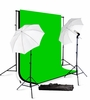 Photography Studio Lighting kit with Muslin Backdrop Support Stand H57
