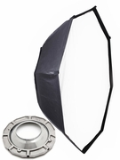"""Pro Octagon 55"""" Softbox with Speedring for Alien Bees Strobe Light"""