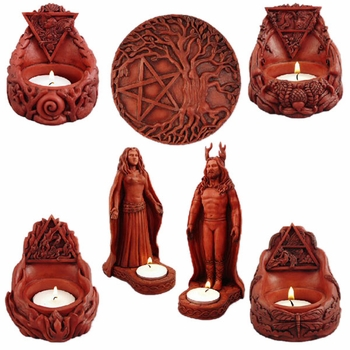 Altar Tealight Statuary Collection