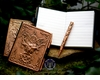 Bronze Pagan Goddess Journal with Pen