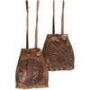 Celestial Leather Medicine Pouch - Assorted