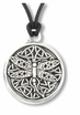 Celtic Dragonfly ~ Spirit Wisdom Pewter Necklace