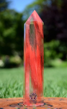 Cherry Quartz Obelisk #4