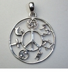 COEXIST Pendant - Sterling Silver - Best of Show!