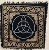 Fringed Triquetra Altar Cloth