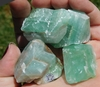 Green Calcite - Natural State