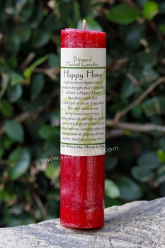 Happy Home - Blessed Herbal Candle