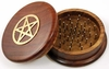 Kitchen Witch Pentacle Herb Grinder