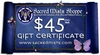 Sacred Mists Shoppe $45 Gift Certificate
