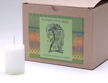 Sacred White Sage World Magick Votive