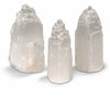 "Selenite White Crystal Tower - 4.5"" Tall"