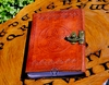 Small Leather Celtic Knot Pentacle Journal