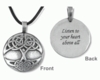 Tree of Life ~ Pewter Blessing Necklace