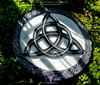 Triquetra of the Green Witch - Altar Tile