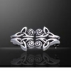 Triquetra Swirl ~ Sterling Silver Brooch - ONLY 2